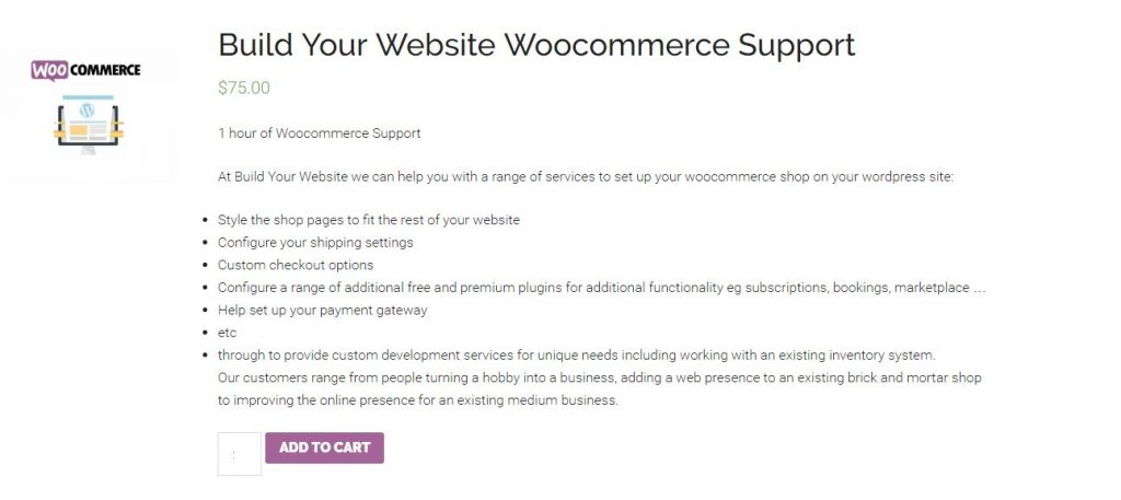 example of full page | remove the sidebar from woocommerce shop pages with a Genesis theme
