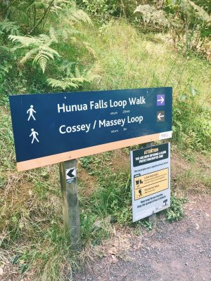 signs on the trail - internal linking concept