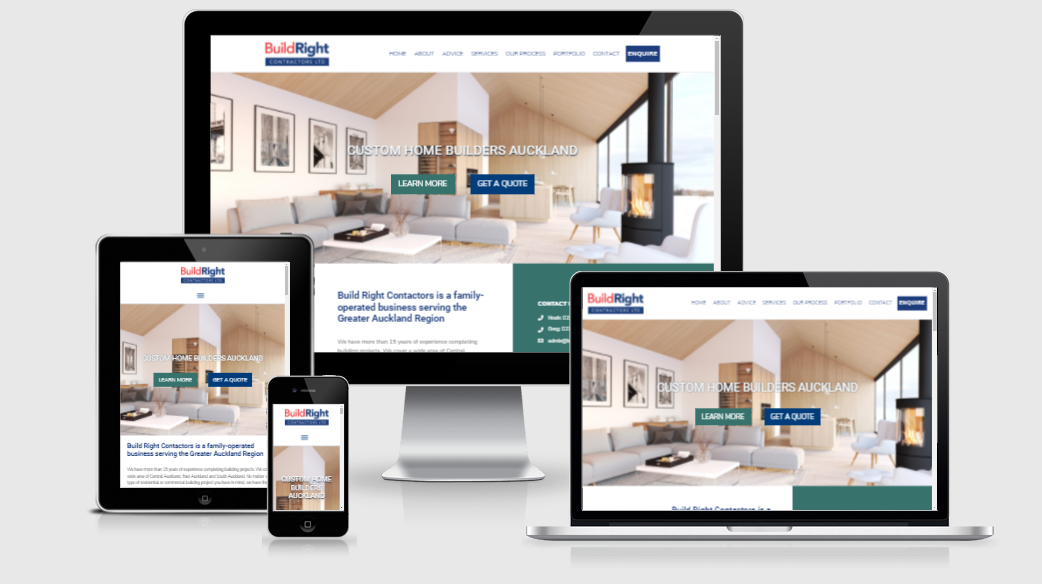 Builders Small Business Website