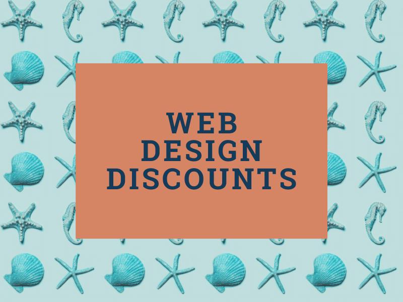 Cheap Web Design Concept - Website Sale